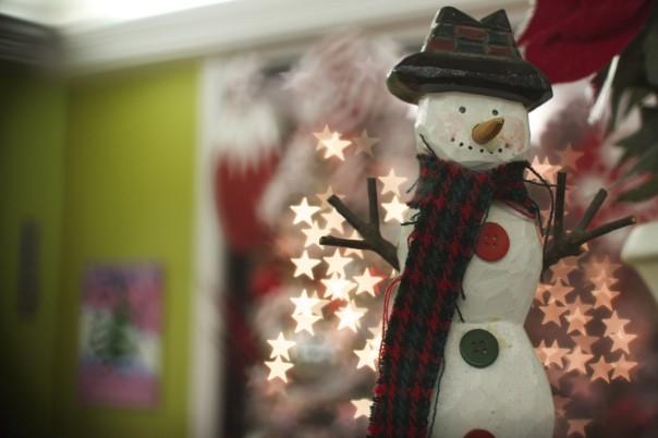 Snowman & Stars
