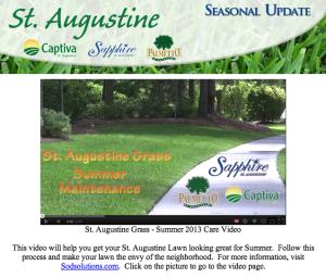 St Aug Summer Maint
